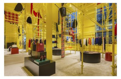 Raf Simons Collaborates With Sterling Ruby On Madison Avenue Calvin Store