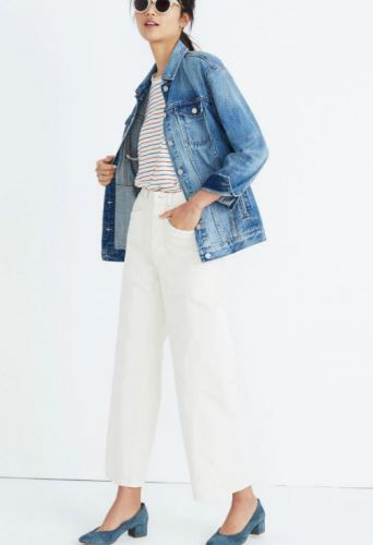This Is The Season's Most Stylist Jean Jacket