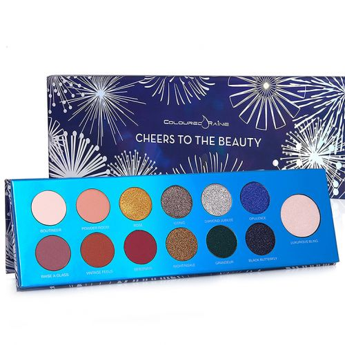 Coloured Raine Cheers to the Beauty Palette for Holiday 2017