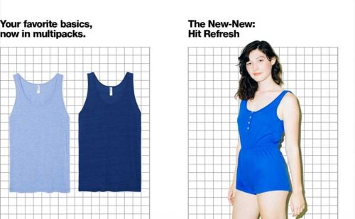 American Apparel returns to basics with global relaunch