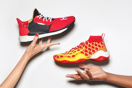 "Pharrell & adidas Bring Good Fortune with ""Chinese New Year Hu"" pack"