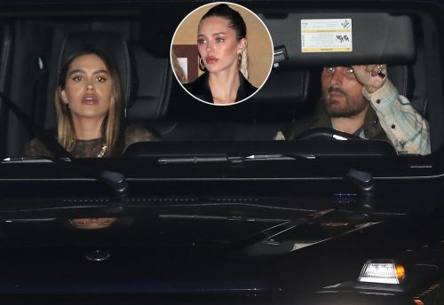 Scott Disick and Amelia Gray Hamlin Get Dinner at Nobu Malibu With Her Sister Delilah Belle Hamlin
