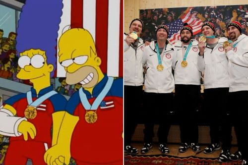 'Simpsons' episode predicted this Olympic gold moment