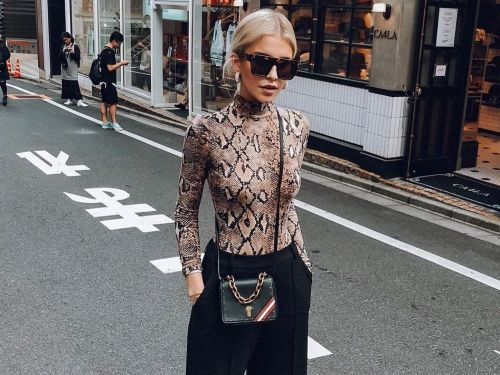 Cool Printed Turtleneck Outfits to Re-Create ASAP