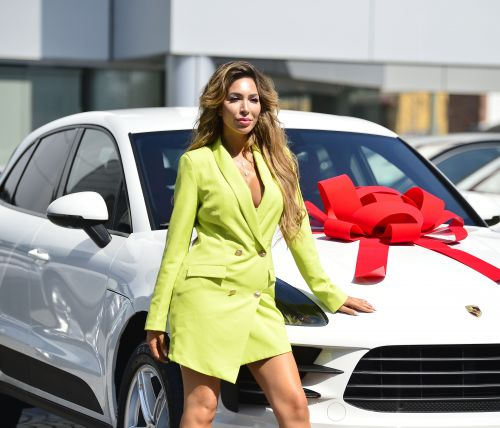Boss Lady Moves! Farrah Abraham Rocks a Neon Blazer While Gifting Herself a Porsche