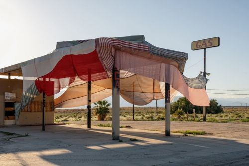 Artist Eric N. Mack's Desert X Installation Has Mysteriously Disappeared