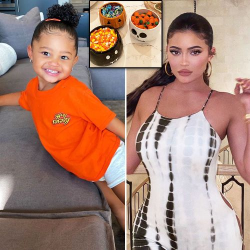 Kylie Jenner's Daughter Stormi Webster Says Her Halloween Decorations Are 'So Pretty'