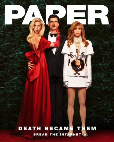 Sean O'Pry Stars in 'Death Becomes Her' Editorial for Paper