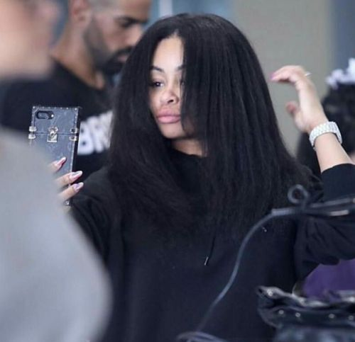 We're Wigging out Over How Gorgeous Blac Chyna's Real Hair Is