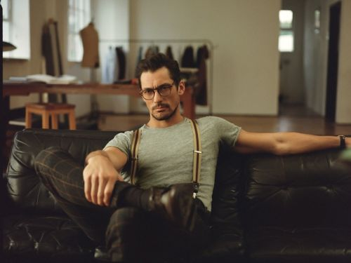 Icon of Style: David Gandy for Mango