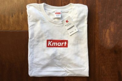 Supreme Blanks from Kmart Has Been Used to Make 'Kmart' Box Logo Tees You Can Buy