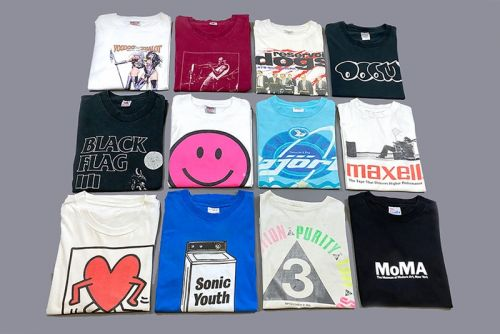 Teejerker Drops Over 200 Vintage T-Shirts to Celebrate Four-Year Anniversary