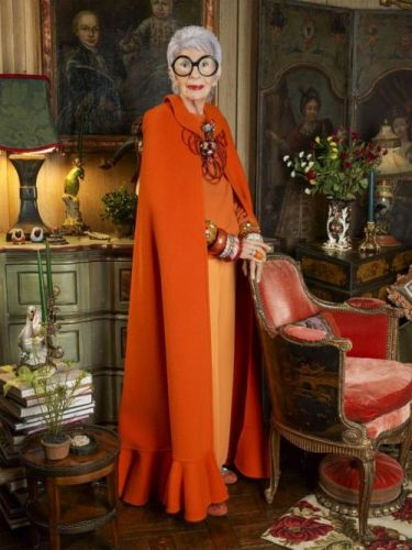 Iris Apfel Opens Up About Her Ageless StyleThe 69-year-old maven