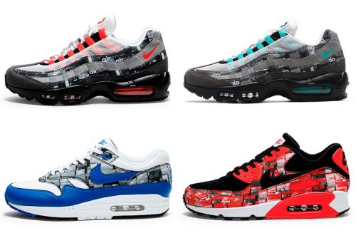"A Full Look at the atmos x Nike Air Max ""WE LOVE NIKE"" Pack"