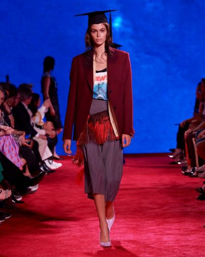 Denim and Dreams: Grappling with Nationhood at Raf Simons' Calvin Klein
