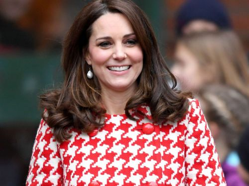 Kate Middleton Channels Diana - Or She Just Likes Houndstooth?