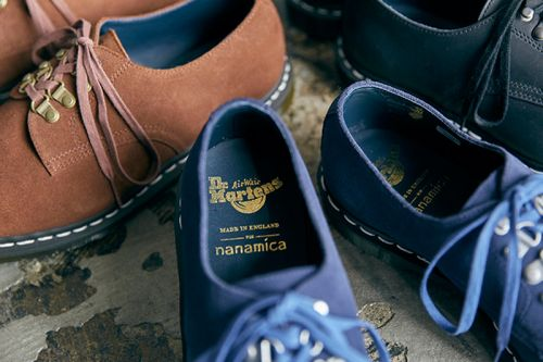 Nanamica & Dr. Martens Upgrade the Plymouth MIE Officer