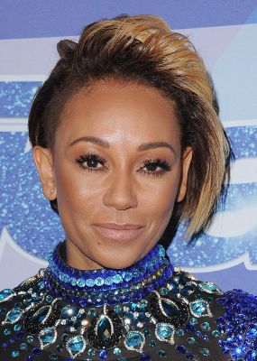 Mel B Just Chopped Her Hair into a Half-Pixie