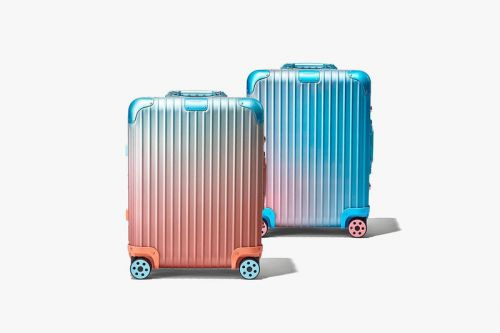 Rimowa Links up With Alex Israel for Its Latest Collaborative Suitcase