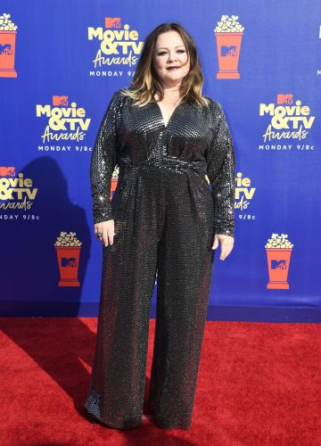 Melissa McCarthy's MTV Movie & TV Awards Jumpsuit Was a Sparkly Dream - See Photos!