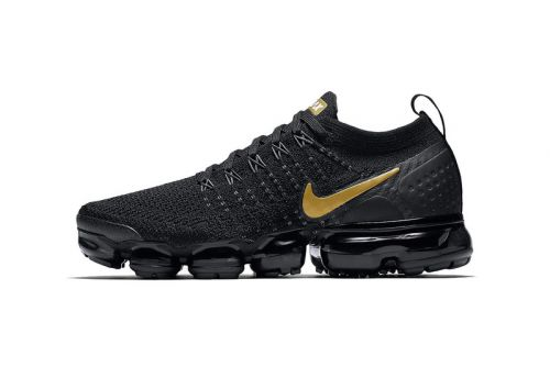 "Nike Air VaporMax 2.0 Gets ""Black/Metallic Gold"" Option"