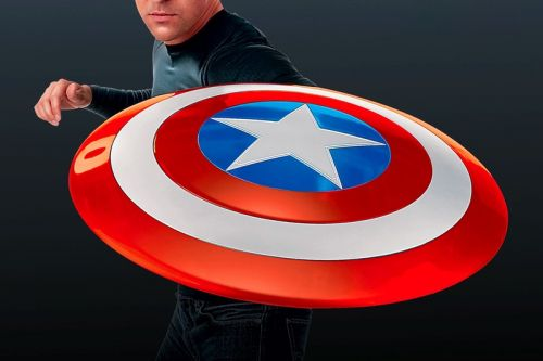 Marvel Celebrates Its 80th Anniversary With a 1:1 Captain America Shield
