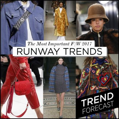 The Top 15 Runway Trends for F/W 2017