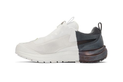 11 By Boris Bidjan Saberi x Salomon Drop Hand-Painted Sneakers in Low-Top Edition