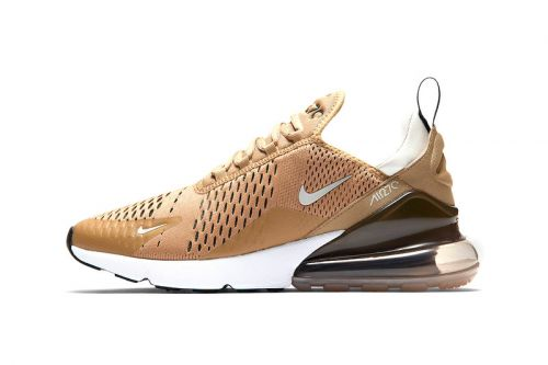"Nike Reworks the Air Max 270 In ""Elemental Gold"""
