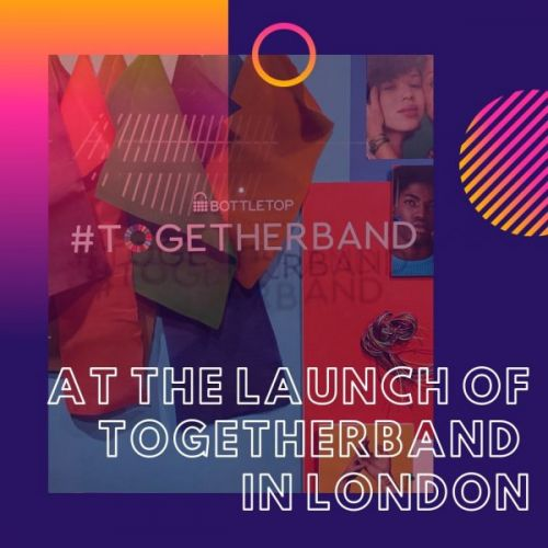 At the Launch of Togetherband in London
