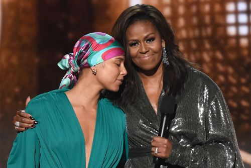 Michelle Obama steals the spotlight at 2019 Grammys