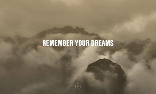 """REMEMBER YOUR DREAMS As John Lennon once said,""""A dream you"""