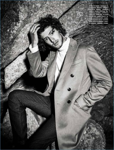 Vincenzo Crea Dons Sharp Fall Fashions for L'Uomo Vogue