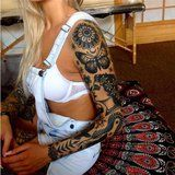 17 Stunning Sleeve Tattoos That Are Prettier Than Clothing