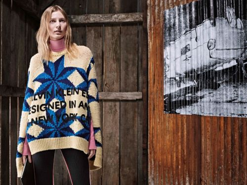 Raf features more Warhol works for first Calvin Klein Pre-Fall collection