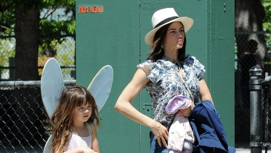 Cute Costume! Jenna Dewan's Daughter Everly is a Little Fairy While Out and About in L.A