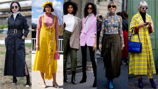 Turtlenecks Were a Street Style Essential on Day 1 of Paris Fashion Week