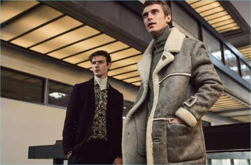 Smart Casual: Clément Chabernaud & Douglas Neitzke Model Chic Zara Styles