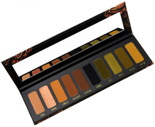 Melt Cosmetics Gemini Eyeshadow Palette Review, Photos, Swatches