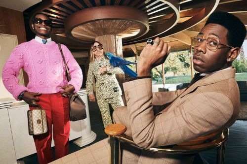 "A$AP Rocky, Tyler, the Creator, and Iggy Pop Wearing Gucci Is the ""Life of a Rock Star"""