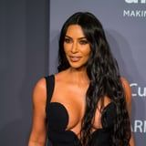 Kim Kardashian Shows Off New Green Hair Color on Instagram