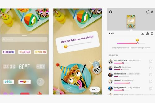 Instagram Adds Emoji Slider Stickers to Polls