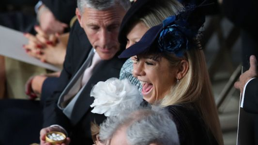 Blimey! Prince Harry's Ex-Girlfriend Chelsy Davy Showed Up At Princess Eugenie's Wedding