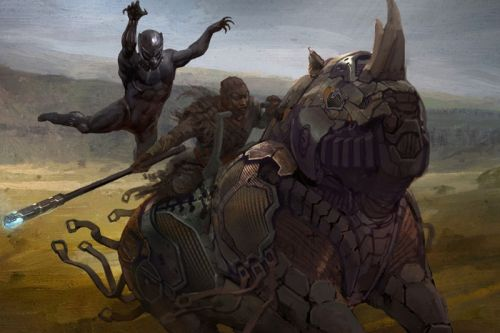 Take a Look at the Concept Art of 'Black Panther'
