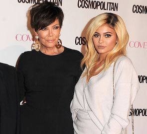 Kris Jenner Gives Kylie Important Advice on Being a Young Mom