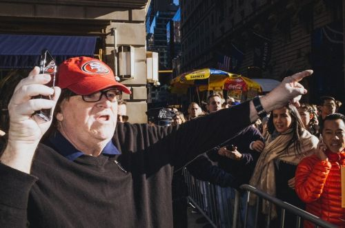 Michael Moore: 'Young people are going to save us'