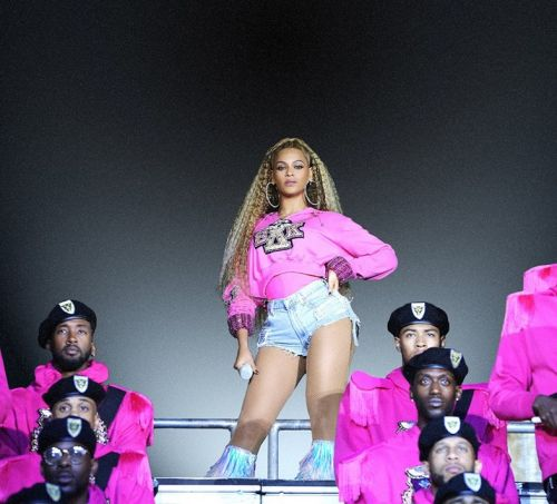 Beyoncé's iconic Balmain Coachella sweaters are going on sale