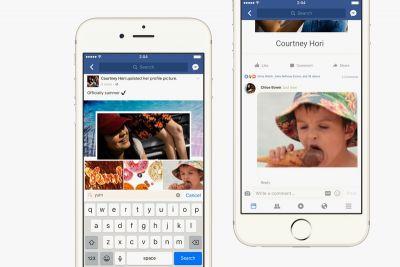 Facebook Now Supports GIFs in Comments for All Its Users