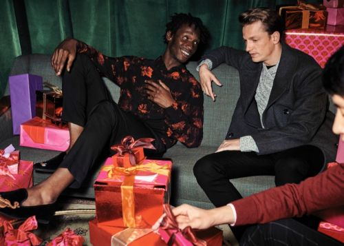 H&M Rings in the Holidays with Adonis Bosso, Hugo Sauzay & Eric Rutherford