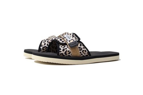 WACKO MARIA Gives Suicoke Sundals a Leopard Print Makeover